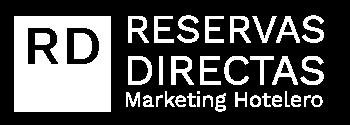 Logo Reservas Directas white